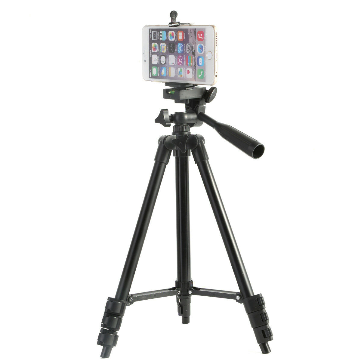 Aluminum Camera Camcorder Tripod Stand Holder+Remote for