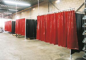 details about heavy duty industrial commercial pvc vinyl welding curtain walls new
