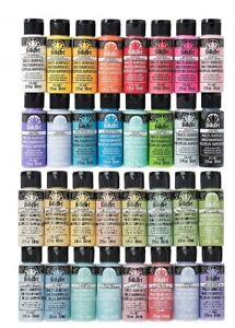 Folkart Multi-Surface Acrylic Paint 2 oz Bottles Over 65 Colors To Choose From!