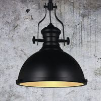Drop Down Pendant Lamp Industrial Dome Shaped Dinning Loft ...
