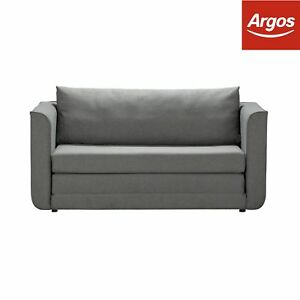 argos sofa in a box review set of leather sofas home ada 2 seater fabric bed grey ebay image is loading