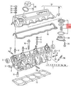 Genuine Ventilation For Cylinder Head Cover AUDI VW 100