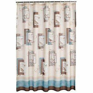 Saturday Knight Blessings Fabric Shower Curtain Religious