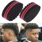 magic sponge wave barber hair brush