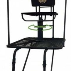 Swivel Chair Tree Stand Fancy Covers For Sale Deer Hunt Platform Climber Steel 16 Feet Big Game Hunting Ladder