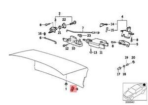Genuine BMW E30 E31 E32 E34 Sealing Blind Plug D=18MM x10