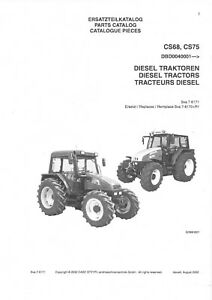 Case IH Tractor CS68 CS75 & Steyr M968 M975 Parts Manual