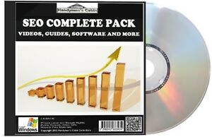 SEO Search Engine Optimization Complete Pack - Videos, Guides and More! DVD