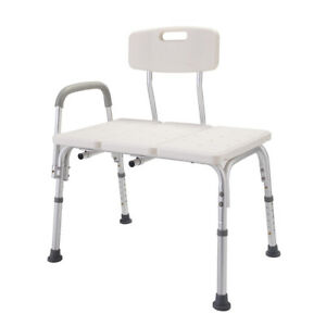 transfer shower chair game chairs target 10 height adjustable bathtub medical image is loading