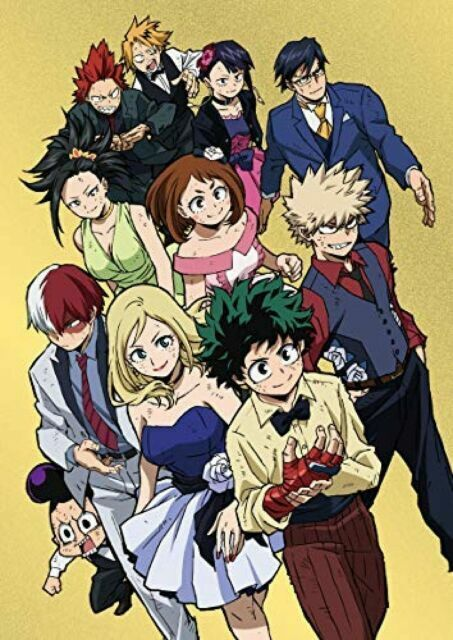 My Hero Academia The Two Heroes : academia, heroes, Academia, Heroes, First, Limited, Edition, Booklet, Japan, Tdv-29026d, Online