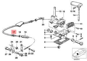 Genuine BMW E24 E28 Automatic Transmission Shifter Cable