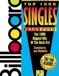 Music reference ser chart history billboard top singles the biggest hits of rock era by joel whitburn paperback ebay also rh