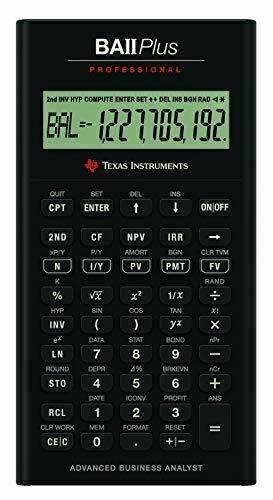 BA II Plus - Ordinary Annuity Calculations (PV, PMT, FV