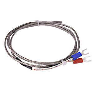 K Type Thermocouple Temperature Sensor 3*15*1000mm 0-600
