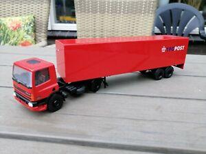 1/50 LION/ TOY CAR VINTAGE DAF 75 CF PTT POST TRUCK & TRAILER GOOD CONDITION | eBay