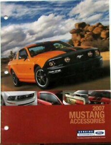 2007 Ford Mustang Hood : mustang, Mustang, Accessories, Salesman, Dealer, Catalog, Sales, Brochure, Original