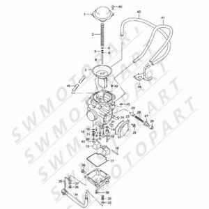 Partman VT07 Carburetor Fti Sukuzi 2000-2001 Quadmaster