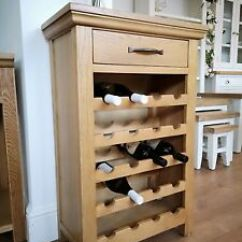 Can You Put A Wine Rack In Living Room Makeover With Wood Accent Wall Modern Oak Cabinet 20 Bottle Capacity Image Is Loading