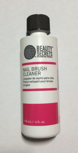 How To Clean Acrylic Nail Brushes : clean, acrylic, brushes, Beauty, Secrets, Acrylic, Brush, Cleaner, Cleaning, Solution, Salon, Formula