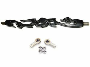 Black SKULL SHIFT LINKAGE for Harley Softail Dyna Wide