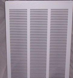 intertherm miller nordyne nortek mobile home electric furnace return grill [ 1187 x 1600 Pixel ]