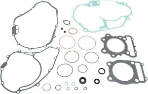 Moose Complete Gasket Kit w/ Oil Seals for HONDA 1985-87