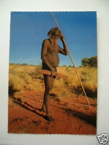 Image Is Loading Vintage Colour Postcard Aboriginal Australian Naked Man With