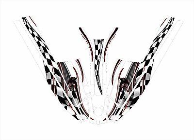 kawasaki 550 sx jet ski wrap graphics pwc stand up jetski