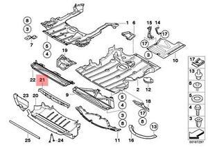 Genuine BMW E92 E92N E93 E93N Coupe Adapter strip Front