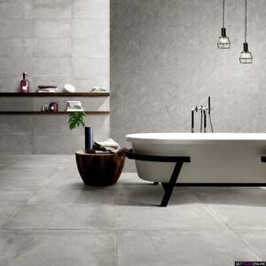 Spirit Light Grey Matt Porcelain Tile Bathroom Kitchen Laundry Wall Floor Ebay