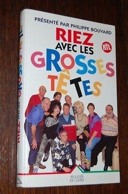 Les Grosses Tetes Avec Bouvard : grosses, tetes, bouvard, Grosses, Têtes, Philippe, BOUVARD, (64R2)