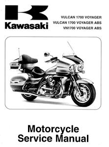 Kawasaki Vulcan 1700 Voyager 2013 2014 2015 2016 service