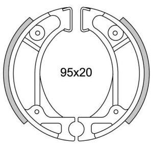Rear brake jaws newfren gf.1248 Honda Super God 50 ZX/TLM