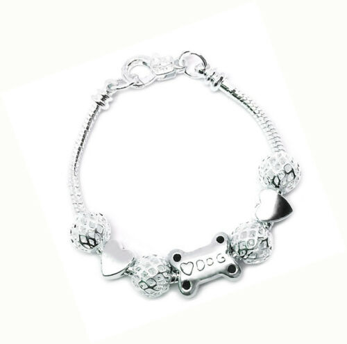 Fine Jewelry 925 Sterling Silver Dog Puppy Lover's Snake