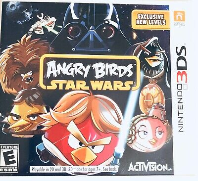 May the birds be with you! Angry Birds Star Wars Nintendo 3ds Rated E Ebay