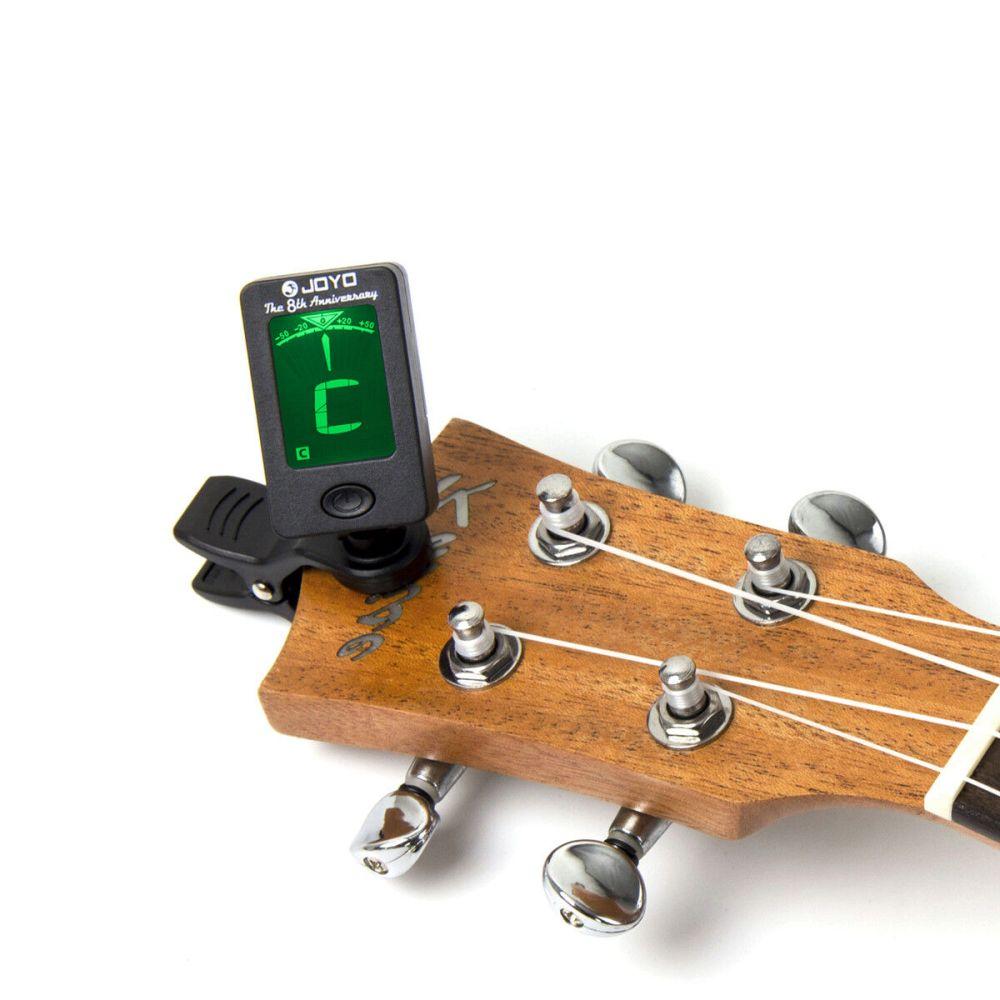 medium resolution of chromatic clip on digital tuner for acoustic guitar bass violin ukulele