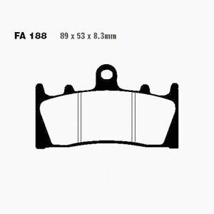 Brake Pads Sinter Hh EBC Front Fa188hh Suzuki Gsx-R 1100