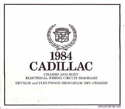 OEM Wiring Schematics Cadillac Deville/Fleetwood Brougham