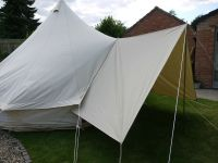 Bell Tent Canvas Awning / Tarp Large 400 x 240cm By Bell ...