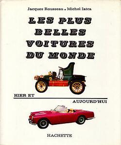 Les Plus Belles Voitures Du Monde : belles, voitures, monde, Belles, Voitures, Monde, Rousseau, Iatca, Hachette, -1963