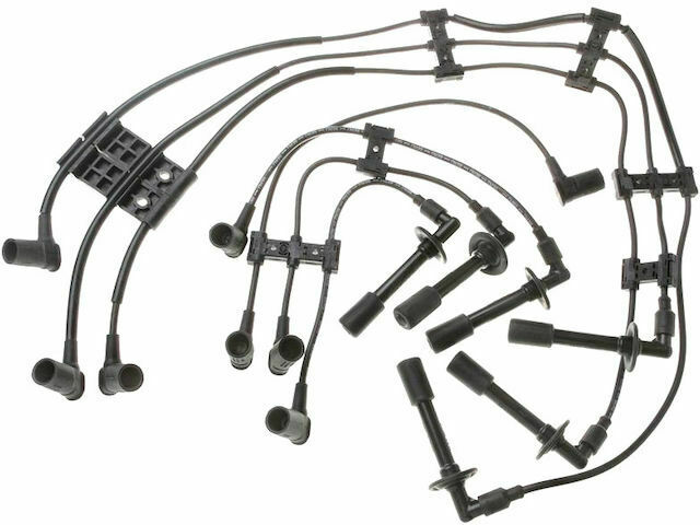 For 1985-1989 Porsche 911 Spark Plug Wire Set SMP 68934ZR