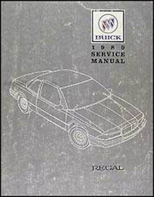 Bishko OEM Repair Maintenance Shop Manual Bound for Buick