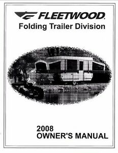 FLEETWOOD Trailer Owners Manual- 2008 Americana LE Sun