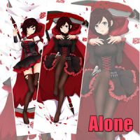 RWBY Ruby Rose Anime Dakimakura PillowCase Hugging Body ...