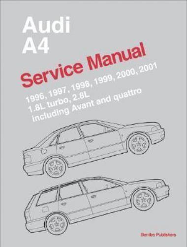 Audi A4 : 1996, 1997, 1998, 1999, 2000, 2001: Repair