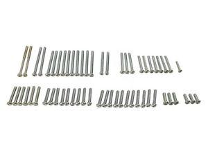 Honda CB750 Engine Screw Set Silver All Models of CB750