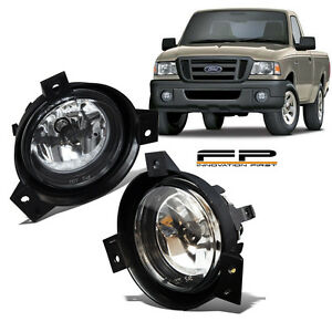 2001 2002 2003 Ford Ranger Replacement Fog Lights Clear