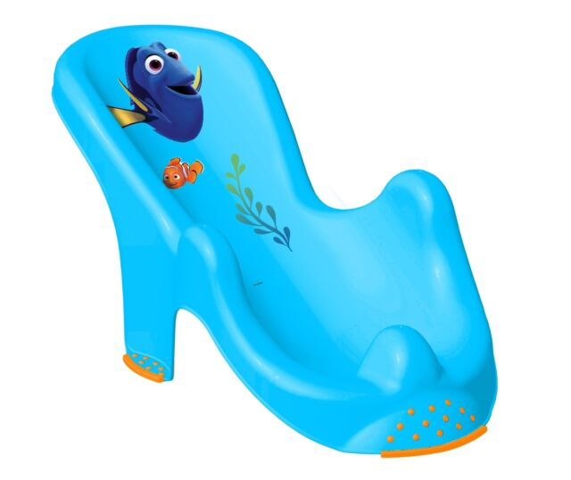 bath tub chair for baby clear folding chairs finding dory anatomic safety cradle 1st seat support disney dorie blue bathtub