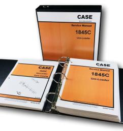 case 1845c uni loader skid steer service repair manual for sale online ebay [ 1600 x 1346 Pixel ]