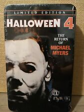 The return of michael myers (1988) region code 1 (usa) on a dark halloween night ten years ago, michael myers brought fear back to his home. Halloween 4 Return On Michael Dvd 1988 For Sale Online Ebay